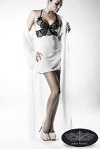 LINGERIE SEXY LOT blanc sous-vêtements Manteau Négligé STRING DENTELLE - $57.66