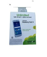 Unlocked Cricket Samsung Galaxy Sol 3 4G LTE - $112.19