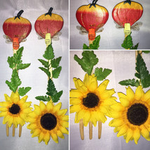 Set of 2 Handcrafted Wood Spoon and Fork Kitchen Dining Decor Housewarmi... - $15.00