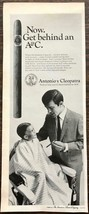 ORIGINL 1968 Antonio y Cleopatra Cigars PRINT AD His First Haircut Witho... - $11.16
