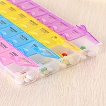 Weekly Medicine Storage Pill Box Organizer Case Container Holder - $265,67 MXN