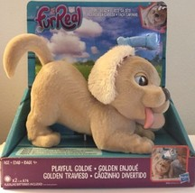 Hasbro Furreal Friends  Playful Goldie Dog New In Box - $14.85
