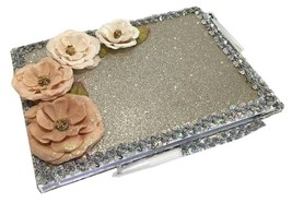 Flower Guest Book For A Sweet 16, Quinceanera, Wedding, Bridal, Signatur... - $49.95