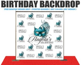 Birthday Banner photo booth wedding banners prom,event, party banners ba... - $1.208,97 MXN+