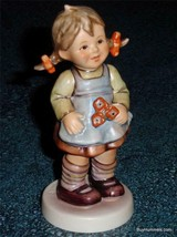 """Flower Girl"" Goebel Hummel #548 TMK7 Cute Collectible Gift With Origina... - $96.99"