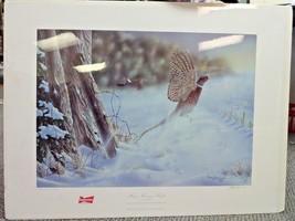 Budweiser Ducks Unlimited Print of the Year  Misty Morning Flight Mark B... - $88.19