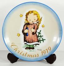 "8"" Vintage 1979 Hummel Sister Berta Christmas Starlight Angel Porcelain Plate  - $14.24"