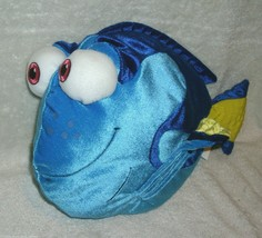 "12"" DISNEY STORE PIXAR FINDING NEMO DORY BLUE GIRL FISH STUFFED ANIMAL P... - $18.70"