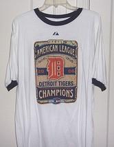 Majestic Mens XL 100% Cotton Detroit Tigers 2006 American League Champio... - $17.96