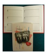 """67000-83 Mead I Love Lucy Address Book. Page Size 2 3/4"""" x 3 7/8"""" - $6.85"""