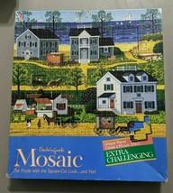 """Vintage New Old Stock 1985 Charles Wysocki Mosaic Puzzle/""""Gull's Nest"""" Sealed - $21.38"""