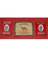 (3) VTG Original 1 Camel 2 Prince Albert Tin Cigarettes Tobacco Case Con... - $16.81