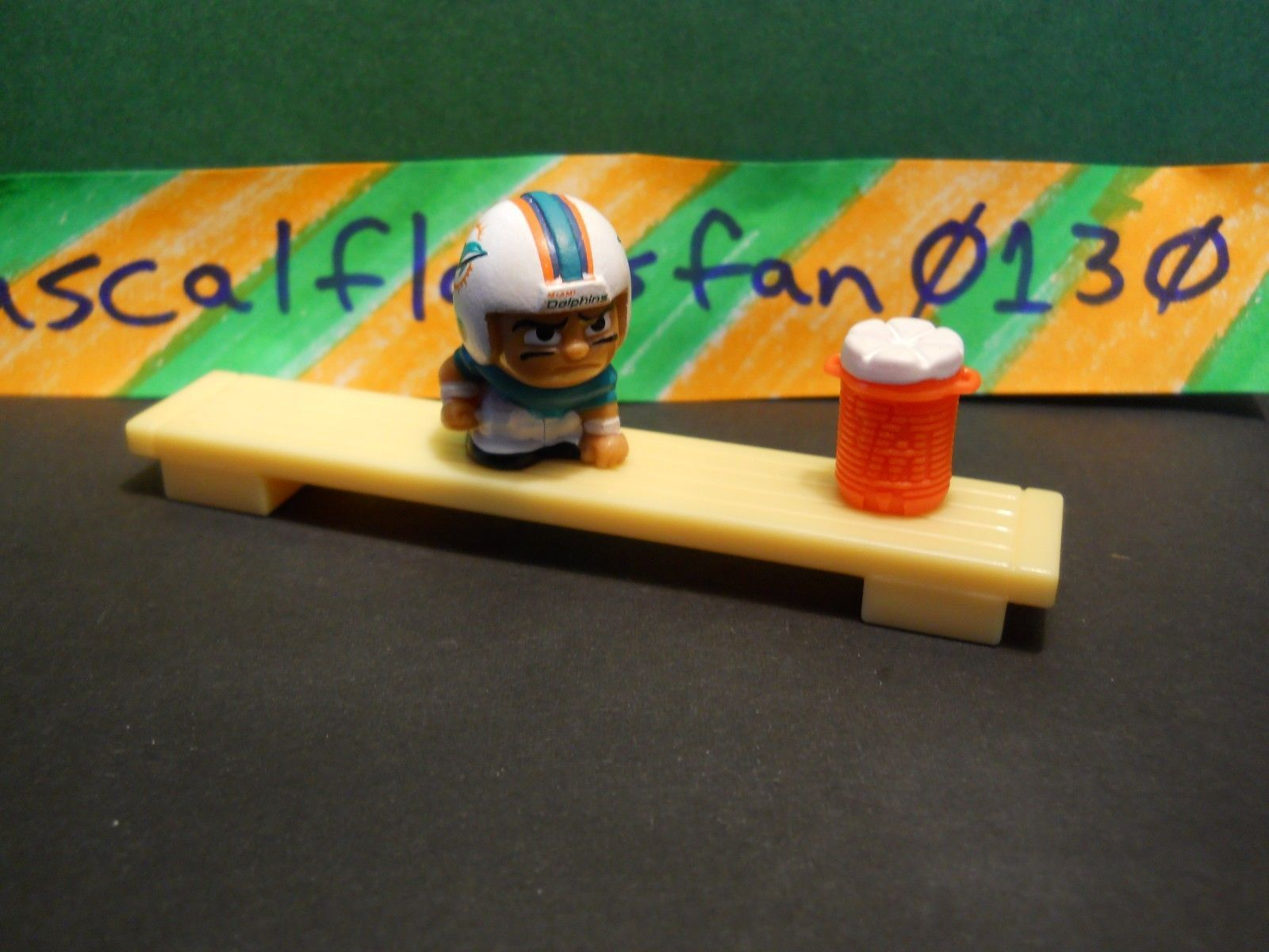 2016 NFL MLB FOOTBALL TEENYMATES LIMITED BENCH & WATER COOLER COMBO!!! SERIES 2 image 3