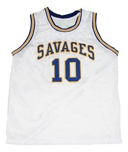 Dennis Rodman #10 Oklahoma Savages New Men Basketball Jersey White Any Size image 3