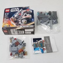 75193 Lego Star Wars 6212541 Millennium Falcon Microfighter Complete Dam... - $11.87