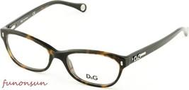 Dolce & Gabbana Women's Eyeglasses D&G1205 502 Havana Plastic Cat Eye Fr... - $105.73