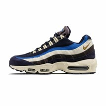 MEN'S NIKE AIR MAX 95 PRM SHOES blackened blue camper green 538416 404 M... - $129.98