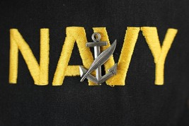 USN US NAVY SHIP SHORE CREW'S NC NAVY COUNSELOR UTILITY BALL CAP BADGE INCL - $24.74