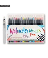 KEVIN&SASA CRAFTS® 20Colors/Set Maker Pens Painting Soft Brush Pen Set - $25.03