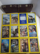 1984 National Geographic Magazines Complete Year, Slip Covers No Maps Lo... - $5.89