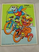 Playskool Sesame Street Baby Gonzo Fozzie Frame Tray Puzzle 8 pcs 1983 - $7.95