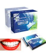 28Pcs/14Pair 3D Gel Teeth Whitening Strips White Tooth Dental kit Oral H... - $12.30