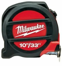 Milwaukee 48-22-5234 33 ft./10M Non-Magnetic Tape Measure - $23.76