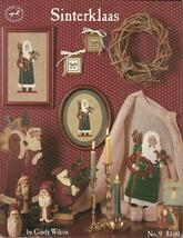 Sinterklaas Pattern Leaflet 9 Cross Stitch Duplicate Stitch Santa Cindy ... - $6.99