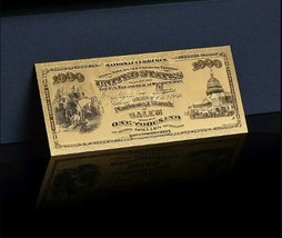 "1875 ""GOLD""$1,000 1ST National BANK Of SALEM Rep.* Banknote~STUN - $11.19"