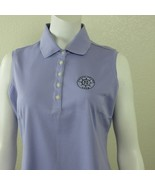 New Nike Golf Dri Fit Ladies Basic Polo Blouse Size M Sleeveless Collar ... - $39.55