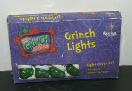 How the Grinch Stole Christmas GRINCH LIGHTS 10 Lights Indoor/Outdoor - $24.73