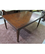 Henredon Acquisitions Veneto Walnut Rustic Banquet Dining Table 3033-20-649 - $3,399.00