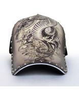 3D Dragon Printed Baseball Caps For Men WOMEN Fashion Snapback Cap Hip H... - $17.58