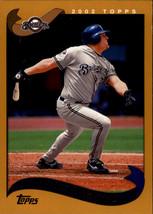 2002 Topps Baseball Base Singles #230-355 (Pick Your Cards) - $0.99