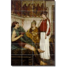 Lawrence Alma-Tadema Historical Painting Tile Murals BZ00233. Kitchen Backsplash - $240.00+