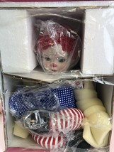 Marie Osmond Hugs  Doll Red White and I Love Blue Patriotic - $39.60