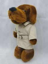 "Vintage McGruff The Crime Dog 10"" Plush! Take Bite Outta Crime 1981 Daki... - $13.56"