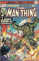 (CB-50) 1975 Marvel Comic Book: The Man-Thing #17 - $10.00