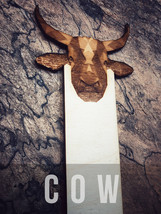 Engraved Cow Bookmark - $10.00