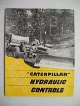 Vintage Caterpillar Hydraulic Controls Sales Dealer Brochure Manual Flyer - $19.79