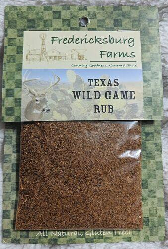 Fredericksburg Farms All Natural Gluten Free Texas Wild Game Rub