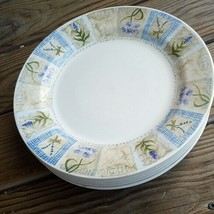 7x - Pier 1  England Angleterre perrentials Dinner Plates  - $58.41