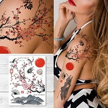 Supperb Temporary Tattoos - Plum Blossom Dance in the sun - $10.14