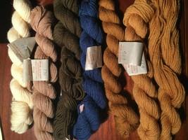 Appletons Embroidery Wool Hanks 6 hanks + 1 partial - $24.75