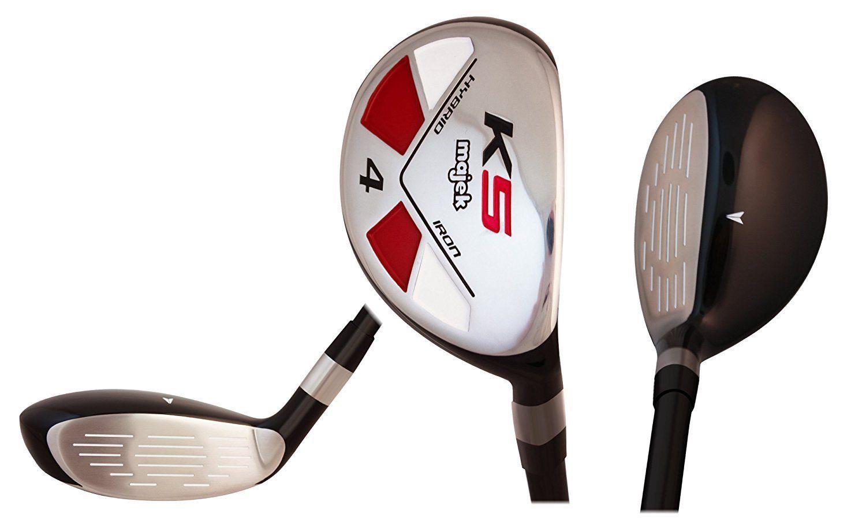 "Senior Men's Majek Golf All Hybrid Full Set (4-PW) Senior ""A"" Flex Utility Clubs"