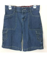 Lee Sinfully Soft Womens Denim Jean Shorts Size 4 Medium Stretch Waistband - $16.99