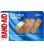 "LOT of 48 Boxes- Band-Aid Flexible Fabric Adhesive Bandages, 1 x 3"" 100 ... - $334.99"