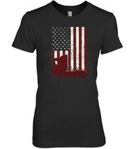 Trucker Flag Truck Driver T Shirt Gift - $19.99+