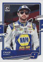 AUTOGRAPHED Chase Elliott 2021 Panini Donruss Racing OPTIC (#9 NAPA Driv... - $49.46