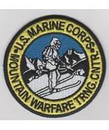 USMC MOUNTAIN WARFARE TRAINING CENTER PATCH NEW!!! @ - $11.87